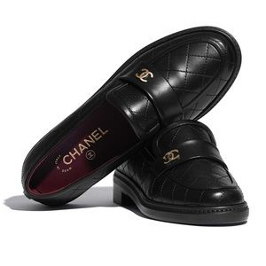 Chanel Quilted Mocassins-Loafers (G36436 - F2020)